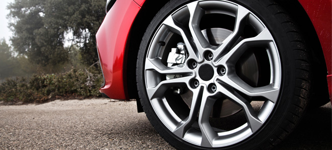 Alloy Wheels and Brake Dust